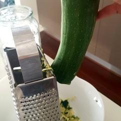 Grate Zucchini