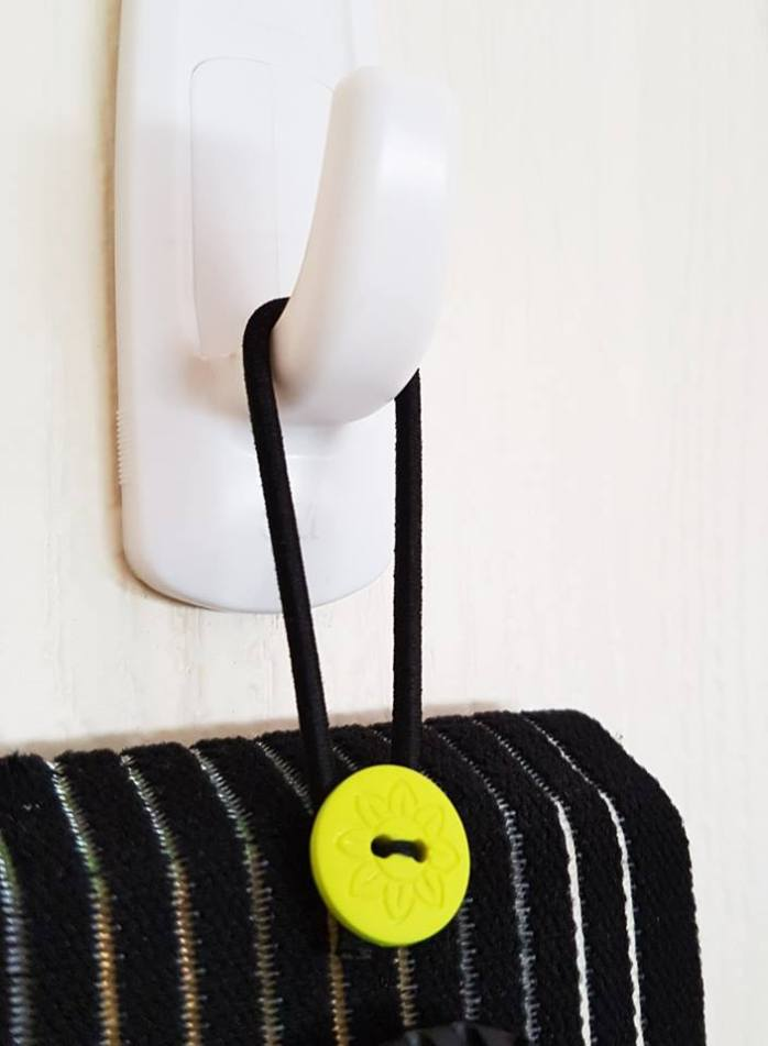 Pop-Up Aroma Belt Hook